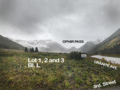 Ophir CO Residential Lots & Land For Sale: $135,000