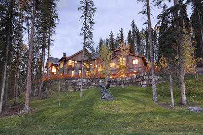 Mountain Village CO Single Family Home For Sale: $8,250,000