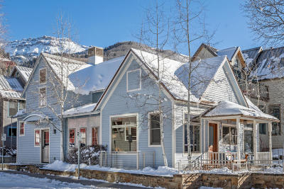 Telluride CO Single Family Home For Sale: $3,980,000