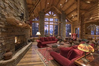 Mountain Village CO Single Family Home For Sale: $5,995,000