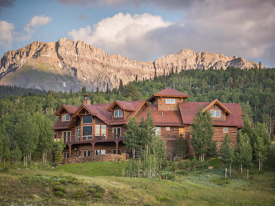 Mountain Village CO Single Family Home For Sale: $4,700,000