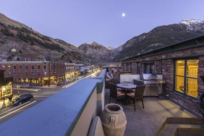 Telluride CO Condo/Townhouse For Sale: $4,150,000