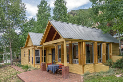 Telluride CO Single Family Home For Sale: $2,395,000