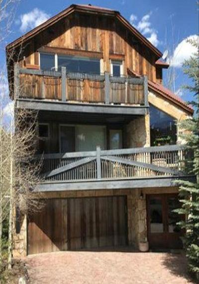 Mountain Village Single Family Home For Sale: 6 Boulders Way