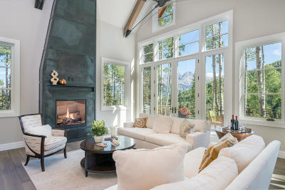 Mountain Village CO Single Family Home For Sale: $3,895,000