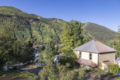 Telluride CO Single Family Home For Sale: $1,650,000