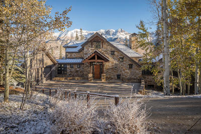 Mountain Village CO Single Family Home For Sale: $4,977,000