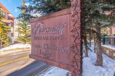 Mountain Village Fractional For Sale: 567 Mountain Village Boulevard #316