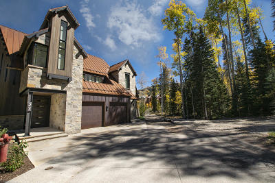 Mountain Village Single Family Home For Sale: 27 Trails Edge Lane