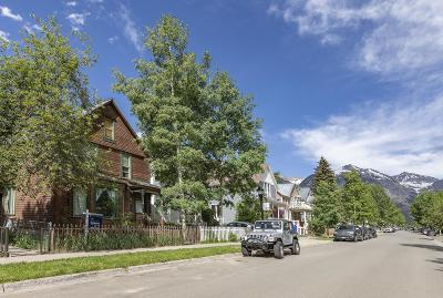 Telluride CO Single Family Home For Sale: $2,155,000