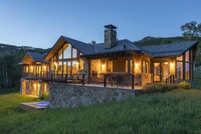 Telluride CO Single Family Home For Sale: $4,950,000