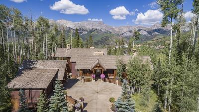 Mountain Village CO Single Family Home For Sale: $7,950,000