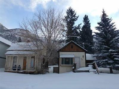 Ouray Single Family Home For Sale: 331 2nd Street