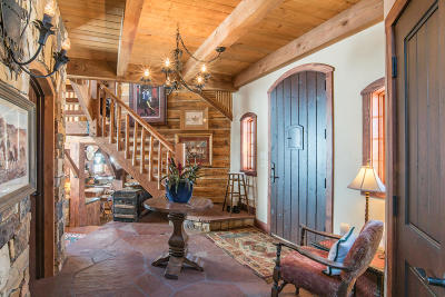 Sawpit Single Family Home For Sale: 105 Hidden Bear Ranch Road