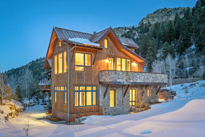 Telluride Single Family Home For Sale: 200 S Sunset Ridge Drive
