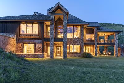 Telluride CO Single Family Home For Sale: $3,600,000