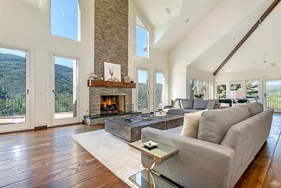 Vail Single Family Home For Sale: 1675 Aspen Ridge Road