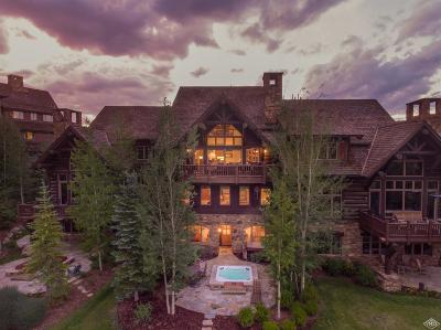 Beaver Creek Single Family Home For Sale: 122 Peak View