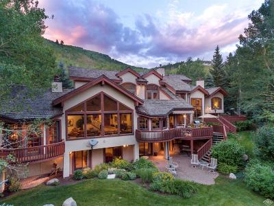 Vail Single Family Home For Sale: 781 Potato Patch Drive
