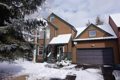 Edwards Single Family Home Under Contract: 823 Edwards Village Boulevard #1