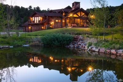 Eagle Single Family Home For Sale: 2547 Salt Creek Road
