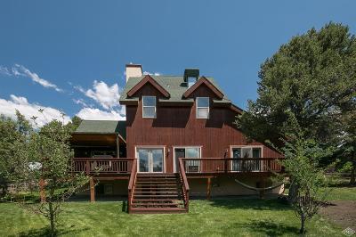 Eagle Single Family Home For Sale: 752 Mesa Drive