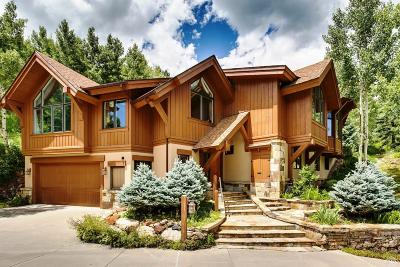 Vail Single Family Home For Sale: 2695 Davos