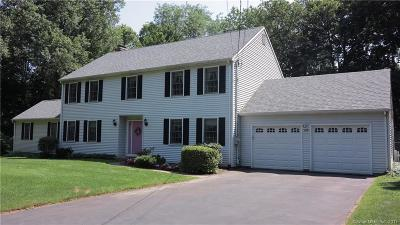 Cheshire Single Family Home For Sale: 148 Merwin Circle