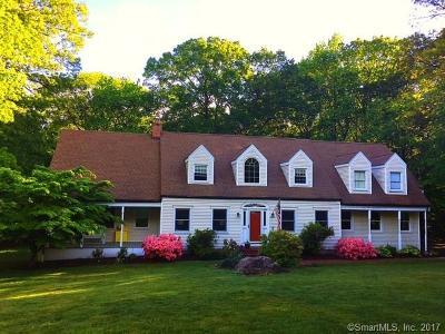 Hamden Single Family Home For Sale: 141 Birchwood Drive