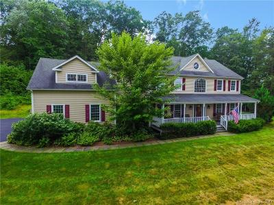 Southbury Single Family Home For Sale: 154 Eagle View Road