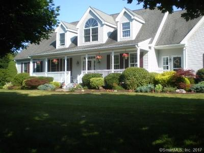 Tolland Single Family Home For Sale: 26 Clearbrook Drive