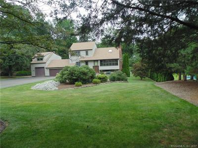 Branford Single Family Home For Sale: 12 Hickory Hill Lane