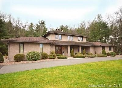 East Windsor Single Family Home For Sale: 296 North Road
