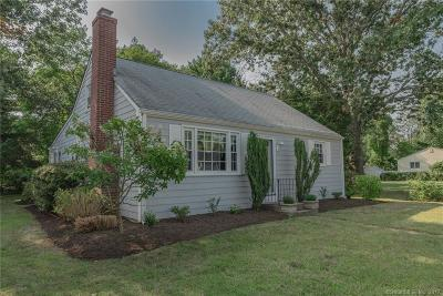 Old Lyme Single Family Home For Sale: 21 Hawks Nest Road