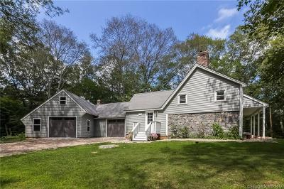 Lyme Single Family Home For Sale: 166 Brush Hill Road