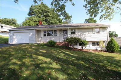 Meriden Single Family Home For Sale: 36 Rogers Drive