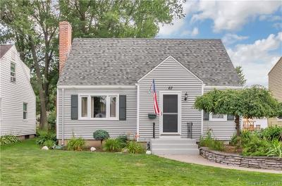 Newington Single Family Home For Sale: 67 Highland Street