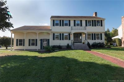 Wethersfield Single Family Home For Sale: 6 Goff Brook Circle
