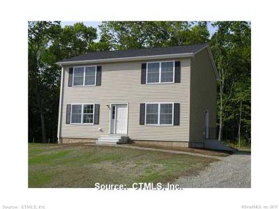 Tolland County, Windham County Single Family Home For Sale: 5 Hoopers Lane