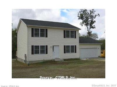 Tolland County, Windham County Single Family Home For Sale: 27 Hoopers Lane