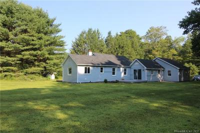 Torrington Single Family Home For Sale: 352 West Hill Road