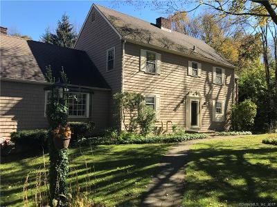 Southbury Single Family Home For Sale: 1423 Bucks Hill Road