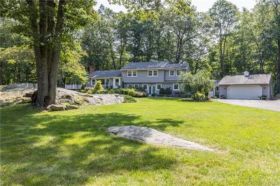 RIDGEFIELD Single Family Home For Sale: 116 Cooper Road
