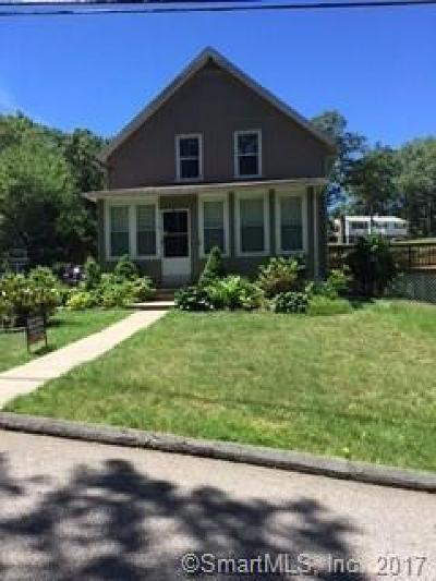Norwich Single Family Home For Sale: 19 Pilling Street