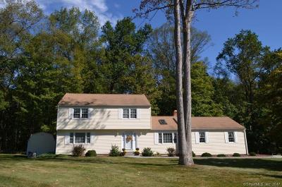 Cheshire Single Family Home For Sale: 120 Hitchcock Court