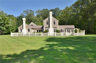 Lyme Single Family Home For Sale: 40 Burr Road