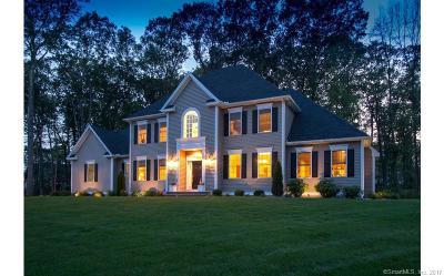 Avon, Farmington, Simsbury Single Family Home For Sale: 27 Stratford Crossing