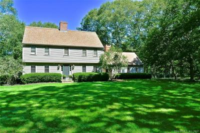 Old Saybrook Single Family Home For Sale: 25 Otter Cove Drive