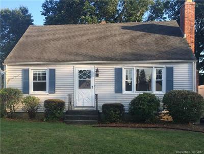 Newington Single Family Home For Sale: 43 Piper Brook Avenue