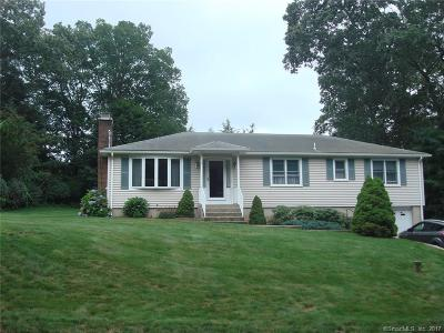 Wolcott Single Family Home For Sale: 24 Mountain View Drive